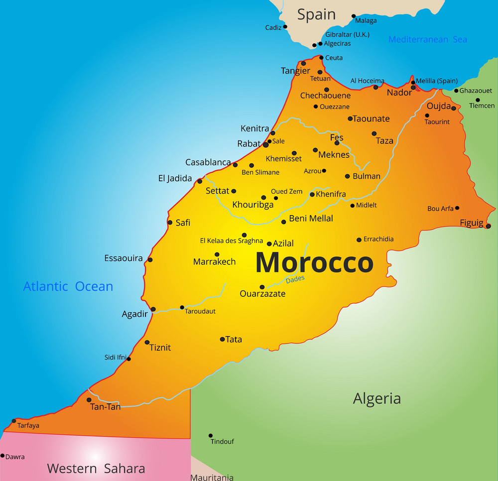 color-map-of-morocco-country-vector-8088750